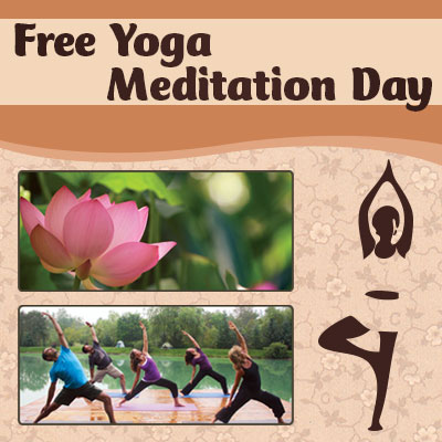 Free Yoga Meditation Day